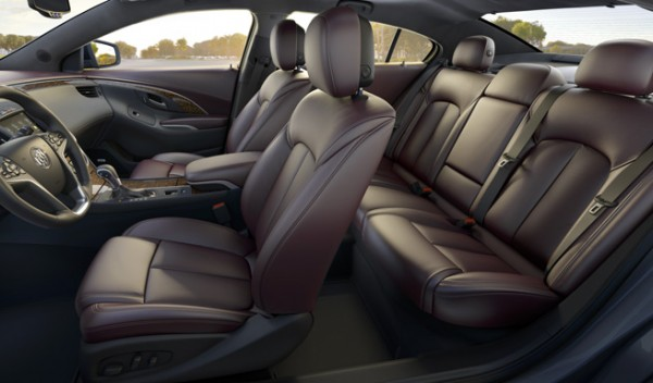 2014 - buick - Lacrosse - Model Overview - Interior